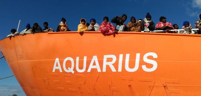 Aquarius migranti