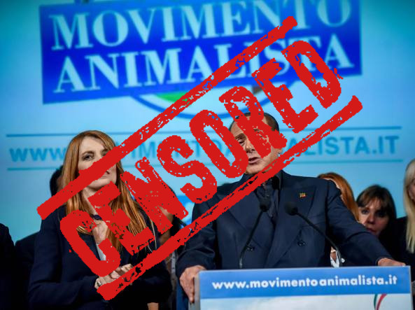 Berlusconi animalista