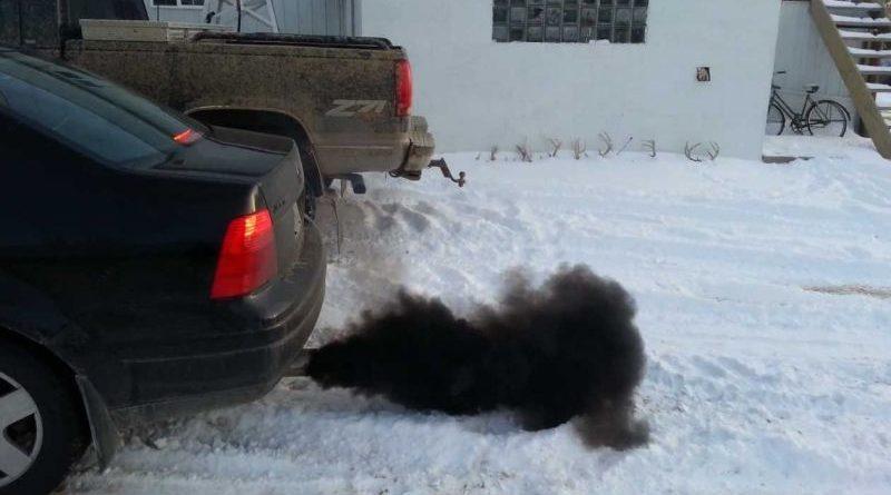 Diesel inquina