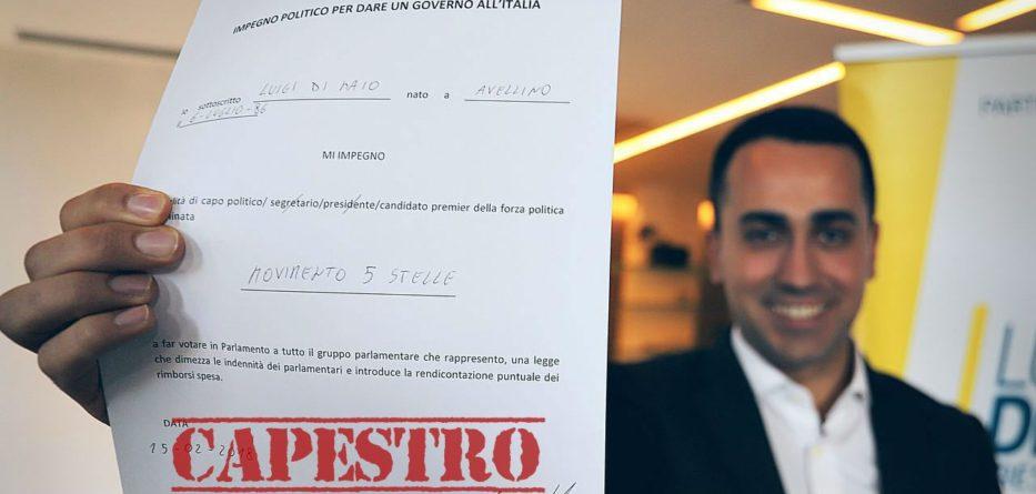 Contratto DEF Capestro